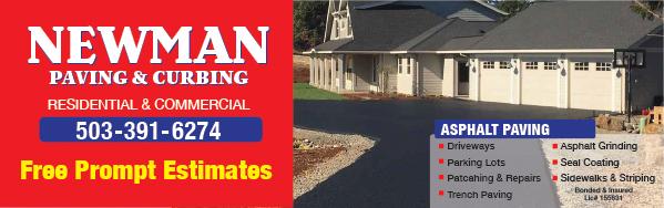 Newman Paving & Curbing
