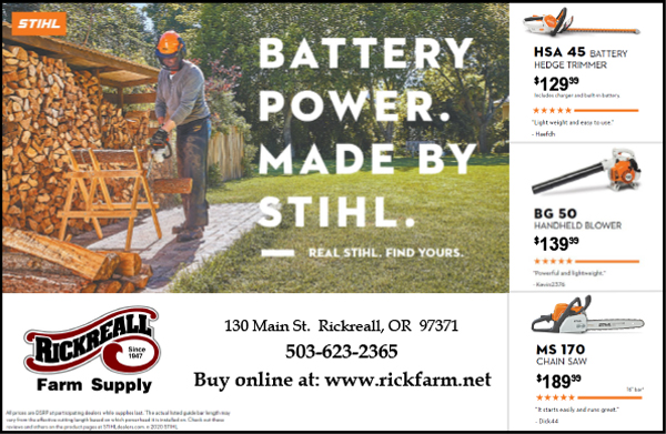 Rickreall Farm Supply (Kubota)