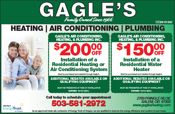 Gagle's Heating, Air Conditioning and Plumbing, Inc. (West Valley)